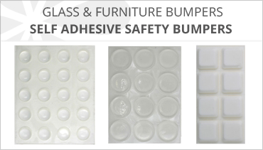 SELF ADHESIVE FURNITURE & GLASS BUMPERS